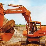 Priestman Mustang 160 Excavator.