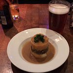 Haggis, Tatties and Neeps, with a nice Orkney Ale