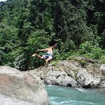 campsite river fun