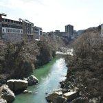 Photo of Kinugawa Onsen Fureai Bridge
