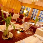 Foto de Clarkes Restaurant at Glen-Yr-Afon House Hotel