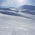 Slope on Mottolino mountain