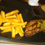 Australian strip, pepper sauce, chunky fries