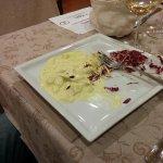 Pollo curry e radicchio