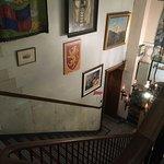 main hostel stairs