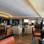 The Gold Lounge is a great facility here, breakfast, afternoon tea, evening snacks and bar drink
