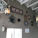 clocks on the side wall
