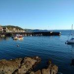 Mevagissey harbour.