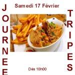 Journée Tripes dès 10h.00 réservation souhaité