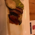 pan roasted duck breast, white bean puree