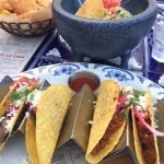 Great food! All you can eat tacos on Tuesdays!