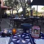 Beautiful outdoor dining area!