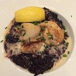 Un risotto aux fruits de mer ... un peu pâteux !
