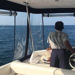 Sanyati - Capt. Sombat at the helm