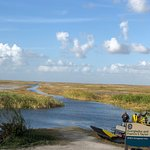 Airboat In Everglades Foto