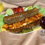 Mix Kebab For Two.
