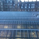 Glasgow Central Roof from the Room