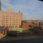 Outside looking at Autozone Park
