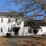 The oldest portion of the Stagville plantation home was built in 1787.