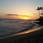 Sunset at Makaha Beach Park