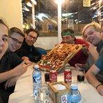 From the left: Niklas, Julian, Erik, Claudio himself, Rasmus, and me.
