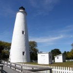 """The 75-foot lighthouse, built in 1823, is a """"must-see"""" Ocracoke Island attraction."""