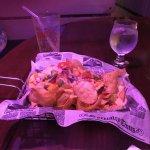 Homemade chips/nachos...A+
