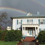 Fountain Hall is the pot of gold at the end of this double rainbow!