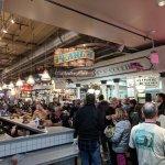 Inside Reading Terminal market