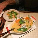 Curry w/ shrimp