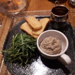 Chicken Liver Pâté served with toasted Soda Bread