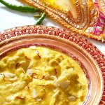 Zouk chicken korma a mild curry with cream, coconut & almonds