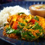 Zouk Chicken & Spinach an authentic curry with fenugreek, cream & spices