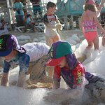 Foam Party at Megano Beach