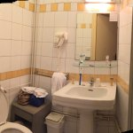 Salle de bains minuscule