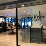 Market Cafe, fast, friendly, delicious