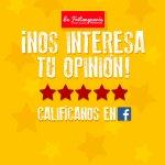 """Seguinos en facebook """"La Fritangueria"""" y danos tu opinión"""