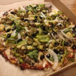Very Veggie Pizza.....