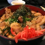 Chicken Donburi with extra meat