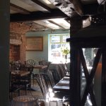Cosy dining in Old Amersham.