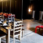 event rental and winery production area