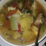 Pineapple Chicken soup