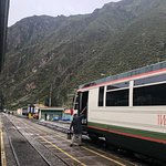 Inca Rail has ceiling windows so you don't miss the Andes snowcaps, and a cafe service cart!