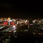 Beautiful view of the strip from my room on the 53rd floor