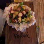Салат от шеф-повара, со спец.заправкой