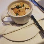Cream of Truffled cauliflower