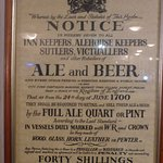 Nice Beer & Ale Notice