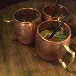 Irish mule ☘️🔝☘️ Whiskey, ginger beer and lime juice, super tasty, super refreshing! 👌🏻