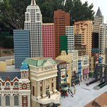 Cities made out of Lego