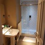 large bathroom, great shower
